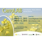 CanoLAB Interactive Canola Diagnostic Clinic Brandon March 11 and March 12